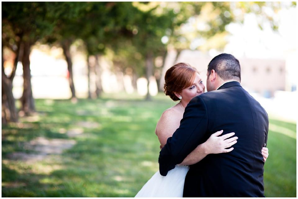 Omaha wedding first look