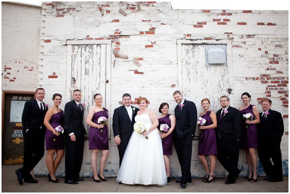 nebraska wedding party