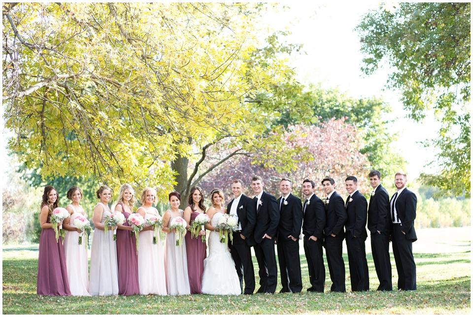 Wedding Party Halleck Park Papillion NE