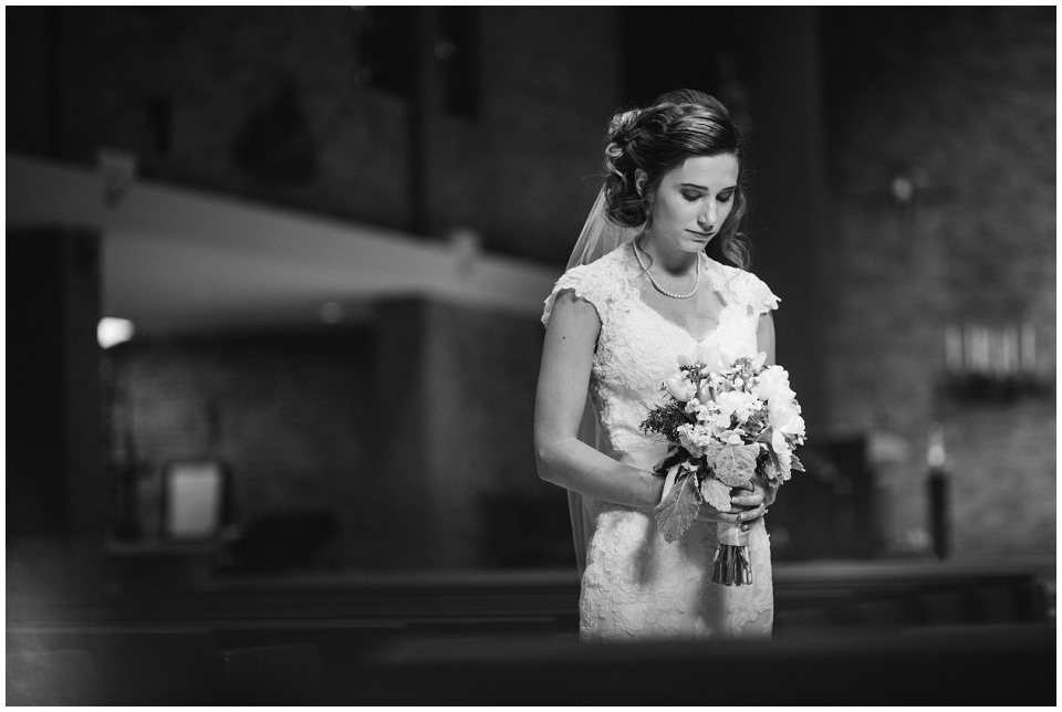 Bridal portrait by omaha wedding photographer