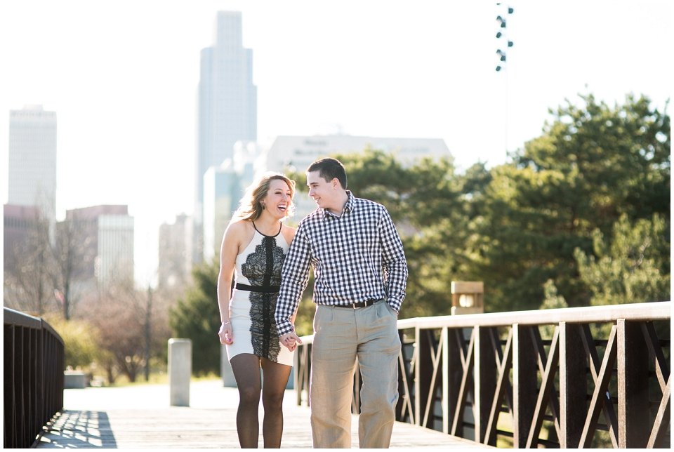 Omaha engagement session