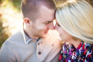 OPPD Arboretum engagement session taken by Omaha wedding photographers