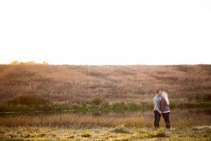 Lake Zorinsky engagement photos in Omaha Nebraska